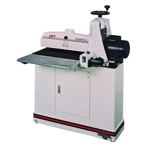 JET 649005K 1-3/4HP 115V 20Amp 22-44 PLUS Bench Top Drum Sander W/ Closed Stand & Casters  by
