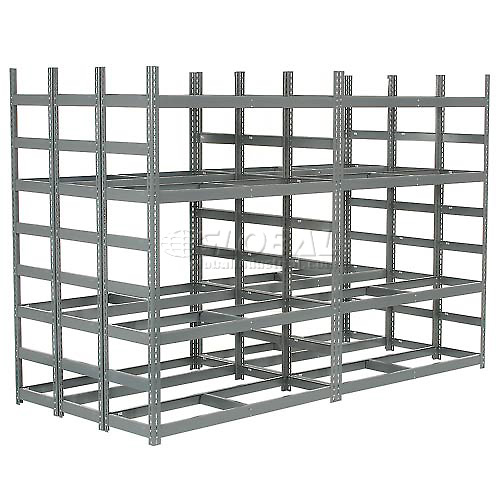 "Bar Storage Rack 56""W X 120""D X 84""H by"