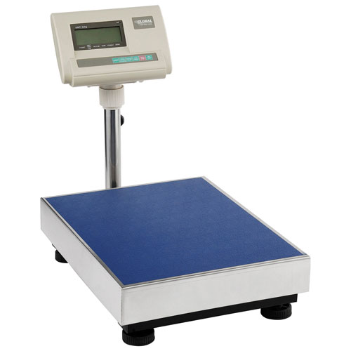 Industrial Bench & Floor Scale 660 Lb x 0.25 Lb by