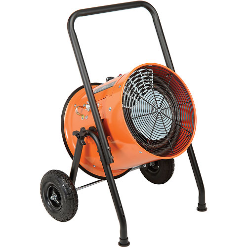 Salamander Heater – Portable Electric Fan Forced 240V 15 KW 1 Phase 62.5 Amps by