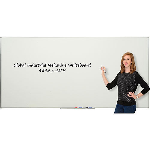 Buy Melamine Dry Erase Whiteboard 4' x 8' Double Sided