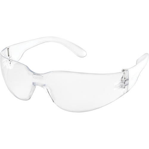 Global Industrial Safety Glasses, Scratch-Resistant, Clear Lens Color, 1 Each Package Count 12 by