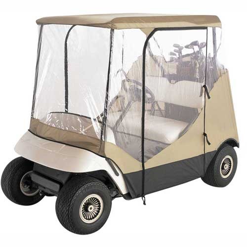 Classic Accessories Travel 4-Sided Golf Car Enclosure 72052 by