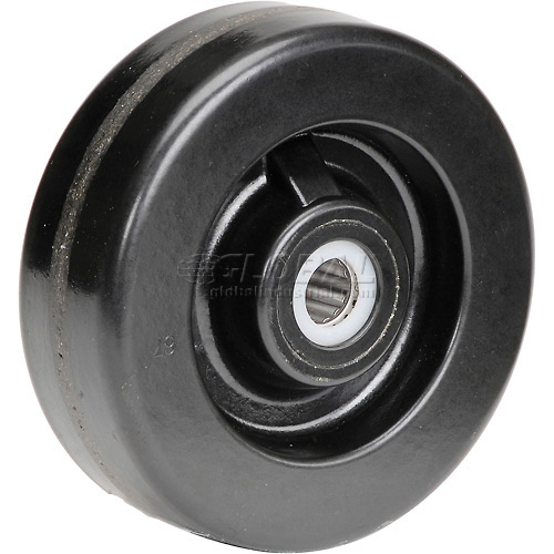 "6"" x 2"" Molded Plastic Wheel Axle Size 3/4"" by"