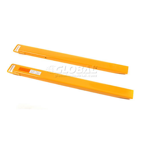 "Click here to buy Forklift Fork Tine Extension 4""W x 60""L Pair."