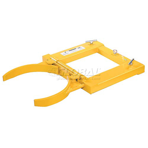 Click here to buy Single Fork Mounted Drum Gripper 1500 Lb. Capacity.