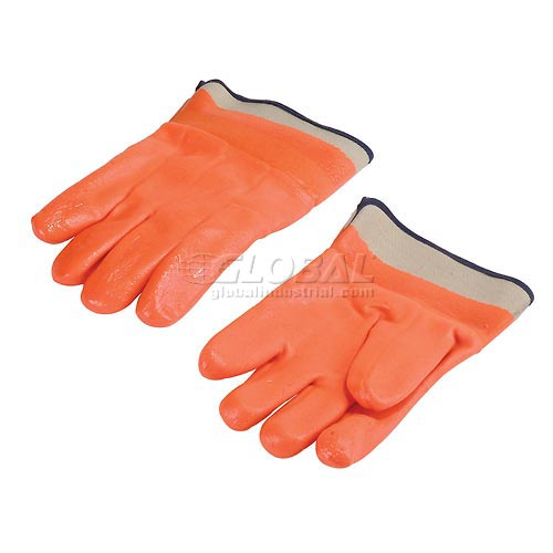 Insulated PVC Gloves, 12 Pairs/Pack by