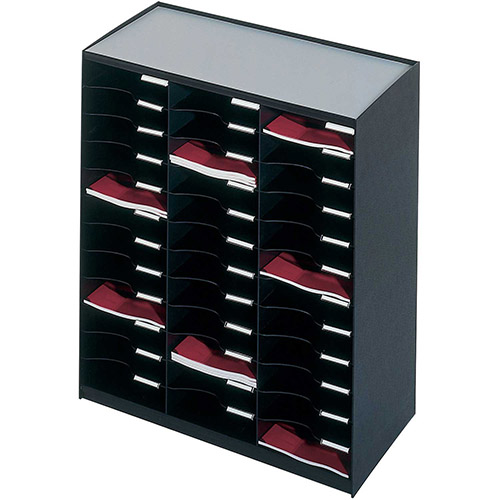 Buy Paperflow Master Literature Organizers 36 Compartments Black