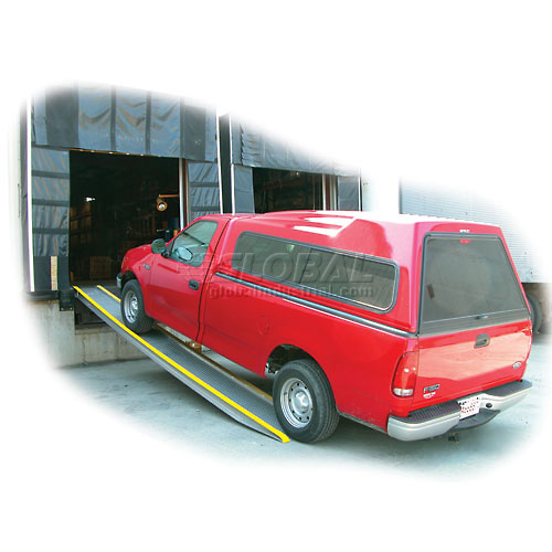 Vestil Pair of Aluminum Vehicle Ramps VTR-5.5-14-10 10'L 5500 Lb. Capacity by