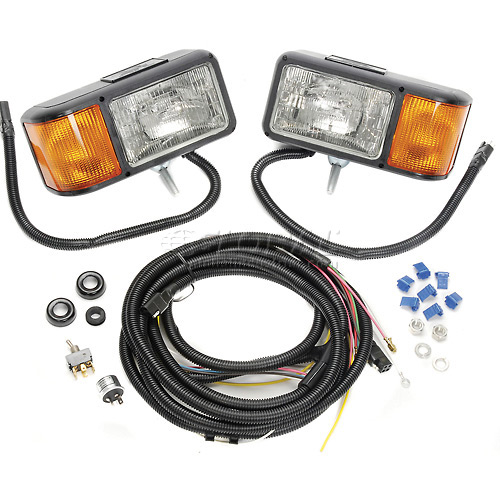 Buyers Halogen Sealed Beam Snowplow Light Kit 1311005 by