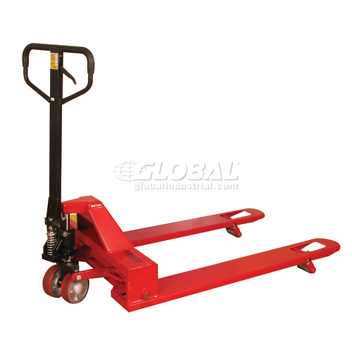 Wesco 4-Way Pallet Jack Truck 273400 4000 Lb. Capacity by