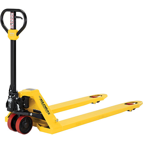 Best Value Pallet Jack Truck 4400 Lb. Capacity 27 x 60 (Nominal) by