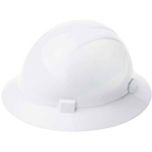 ERB 20004, Americana 360 Hardhat, 4-Point Ratchet Suspension White Package Count 12 by