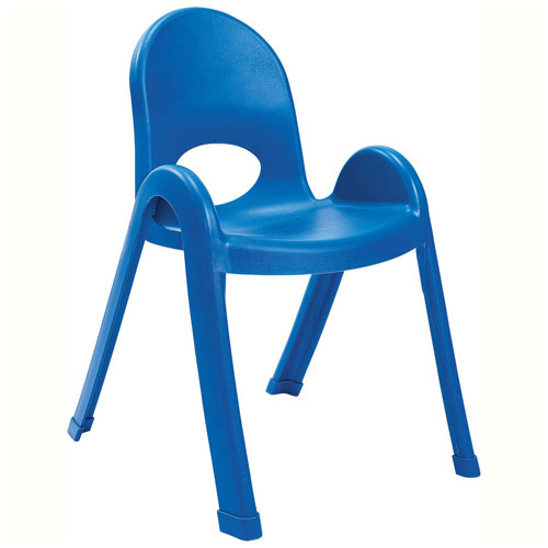 """Click here to buy Angeles Value Stack 13"""" Chair Royal Blue."""
