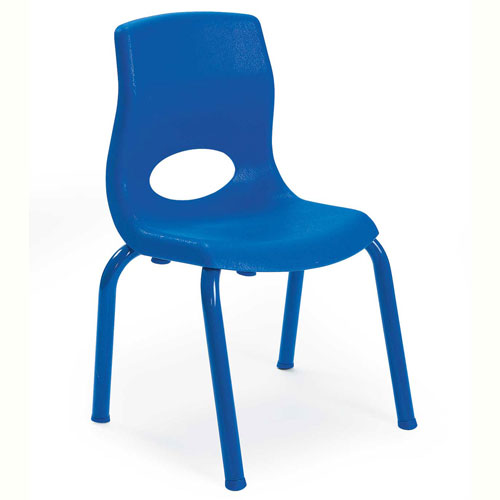 """Click here to buy Angeles My Posture 10"""" Chair Royal Blue."""