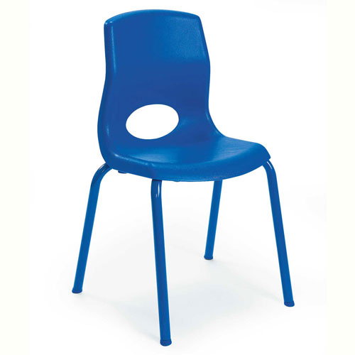"Click here to buy Angeles My Posture 14"" Chair Royal Blue."