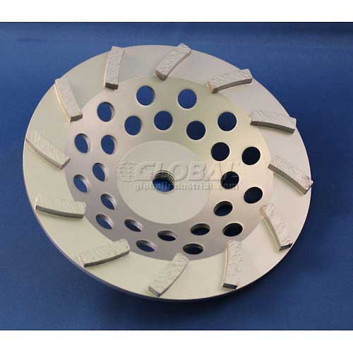"Edmar Abrasive Company 00859A Segmented Turbo Cup Grinding Wheel 7"" x5/8""-11 Diamond by"