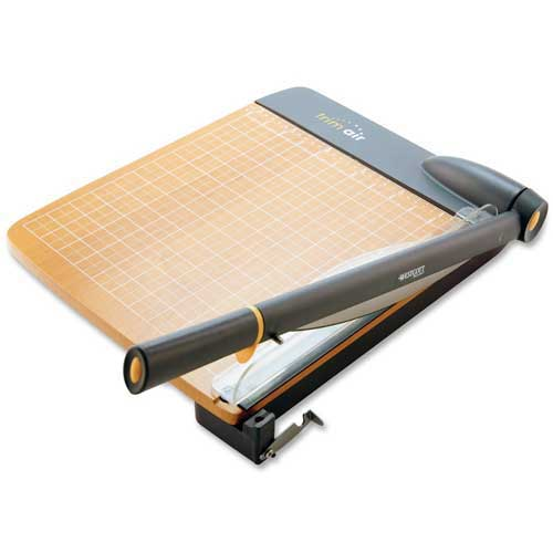 "Acme United Guillotine Trimmer w/ Ergonomic Handle 12""L Blade & 30 Sheet Cap. by"