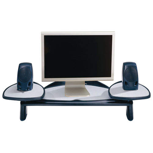 Buy Kensington 60046 Flat Panel Monitor Stand with SmartFit System, Gray/Black