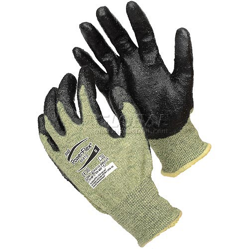 ActivArmr Cut Resistant Gloves, Ansell 80-813, Foam Coating, Size 10, 1 Pair by