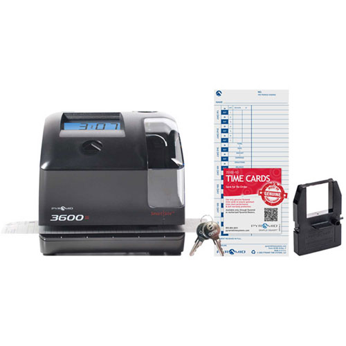 3600SS SmartSite Time Clock & Document Stamp by