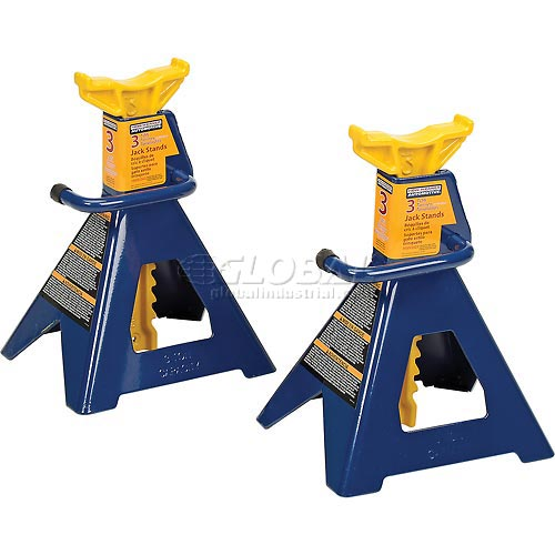 Click here to buy Hein-Werner 3 Ton Jack Stands HW93503.