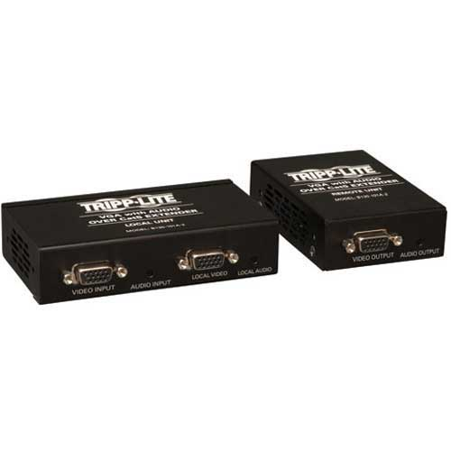 Buy Tripp Lite VGA & Audio over Cat5 Cat6 Extender Transmitter & Receiver EDID