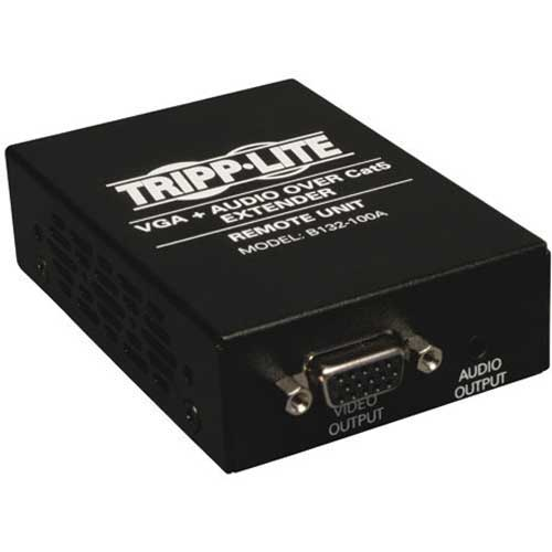 Click here to buy Tripp Lite VGA + Audio over Cat5 Cat6 Extender Receiver 1920x1440 at 60Hz.