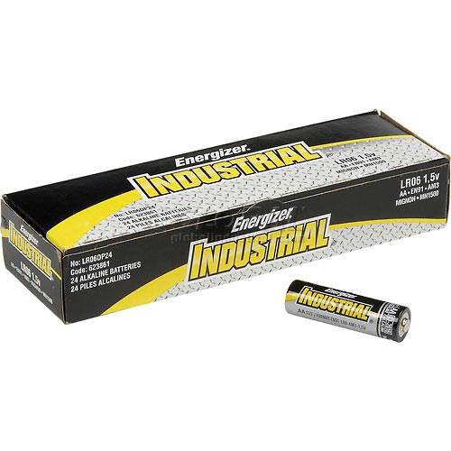 Buy Energizer Industrial EN91 AA Alkaline Batteries Package Count 24