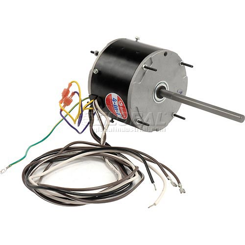 "Century ORM5458, 5 5/8"" Condenser Fan Motor 208-230 Volts 1075 RPM by"