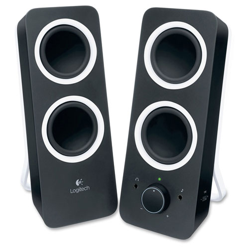 Buy Logitech 980-000800 Z200 Stereo Speakers with Bass Control, Black