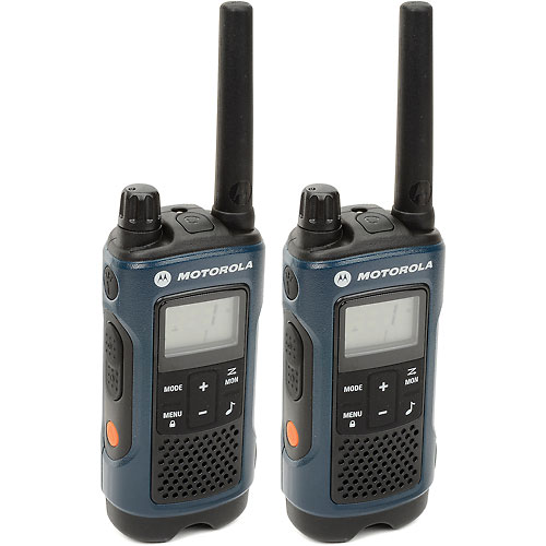 Buy Motorola Talkabout T460 Two-Way Radios, Blue/Black 2 Pack