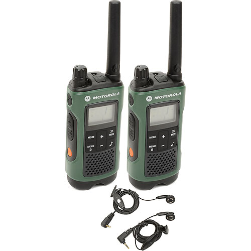 Buy Motorola Talkabout T465 Two-Way Radios, Green/Black 2 Pack
