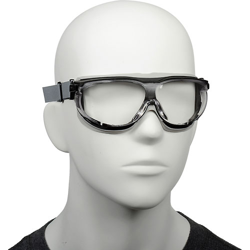 Buy Uvex Carbonvision S1650D Safety Goggles, Black & Gray Frame, Clear Lens