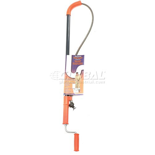 General Wire I-T6FL-DH General Wire 6' Teletube Flexicore Closet Auger with Down Head by