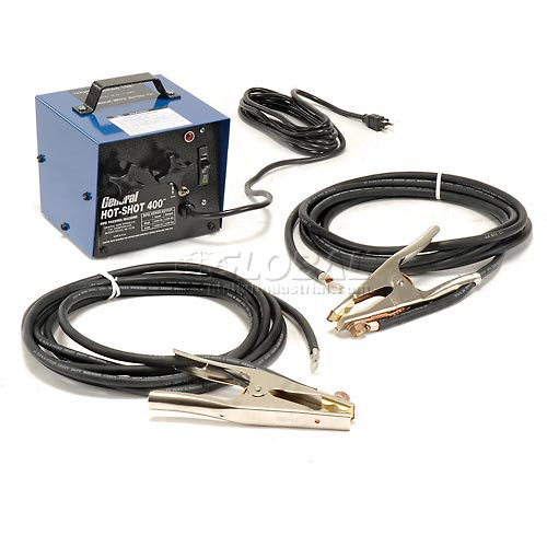 Buy General Wire HS-400 300/400 Amp Hot-Shot Pipe Thawing Machine w/ (2) 20' #1 Cables & Clamps