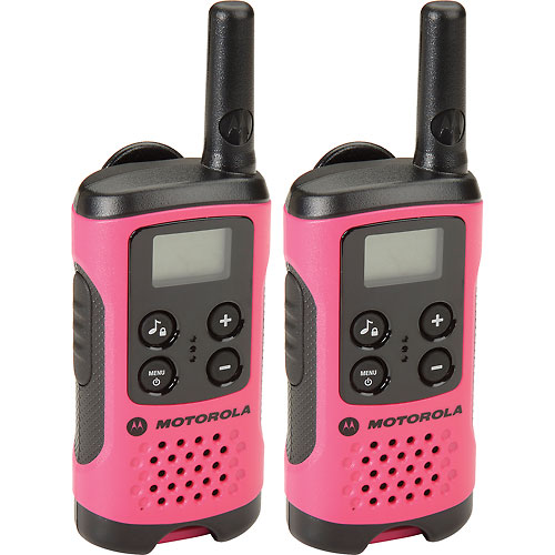 Buy Motorola Talkabout T107 Two-Way Radios, Neon Pink 2 Pack