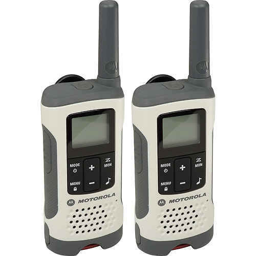 Buy Motorola Talkabout  T260 Rechargeable Two-Way Radios,White 2 Pack