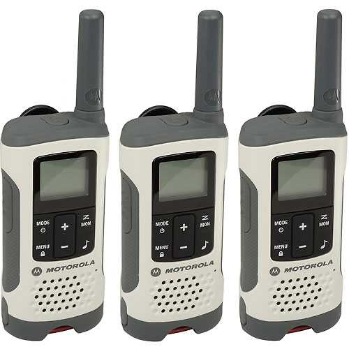 Buy Motorola Talkabout  T260TP Rechargeable Two-Way Radios, White 3 Pack