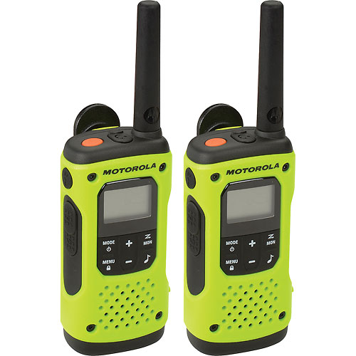 Buy Motorola Talkabout T600 Waterproof Rechargeable Two-Way Radios, Green- 2 Pack