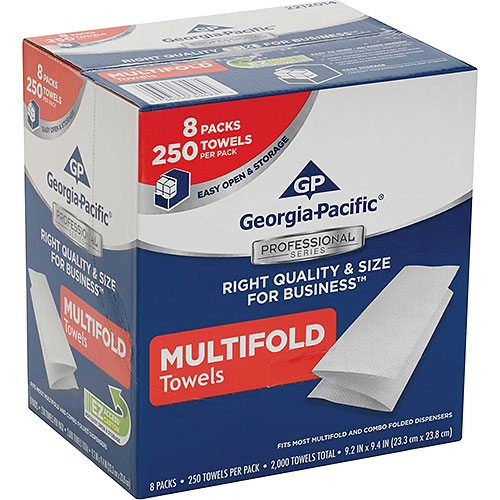 GP Georgia-Pacific Professional Series 1-Ply Multifold Paper Towels, 2000 Towels/Case... by