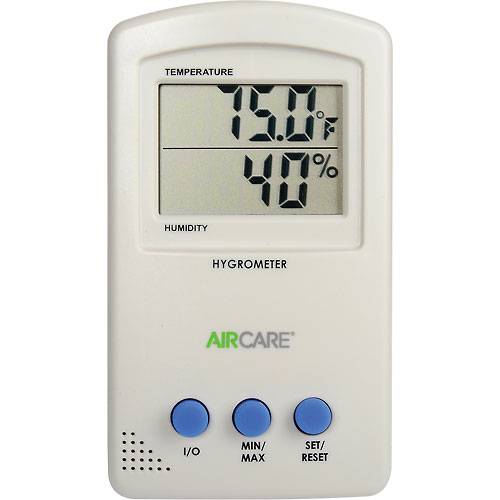 Buy AIRCARE Hygrometer/Thermometer 1990