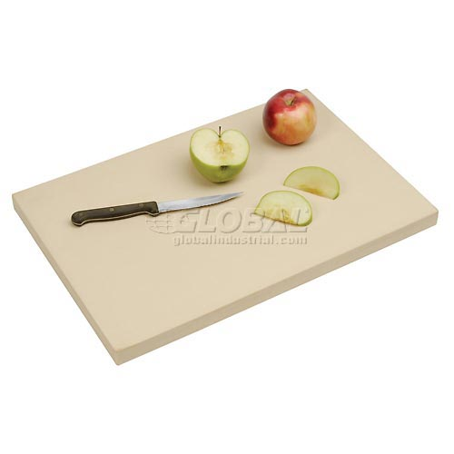 "Click here to buy Sani-Tuff T45S2012BF All-Rubber Cutting Board 12"" x 18"" x 1/2""."