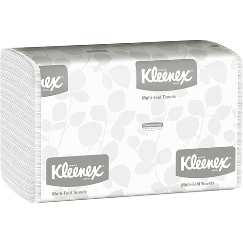 SCOTT Multifold Paper Towels, 9-1/4 x 9-1/2, White, 150/Pack, 16/Carton KIM01890 by