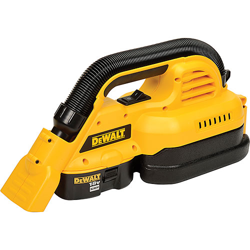 DeWALT DC515K 18V Cordless 1/2 Gallon Wet/Dry Portable Vac by