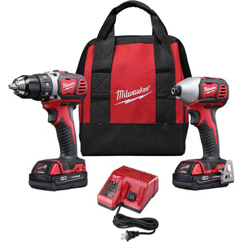 Milwaukee 2691-22 M18 Cordless Li-Ion 2-Tool Combo Kit by