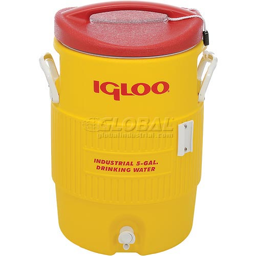 Igloo 451 Beverage Cooler, Insulated, 5 Gallons by