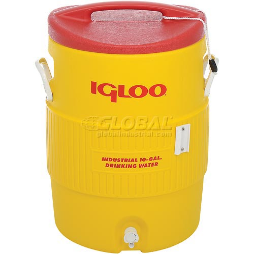 Igloo 4101 Beverage Cooler, Insulated, 10 Gallons by