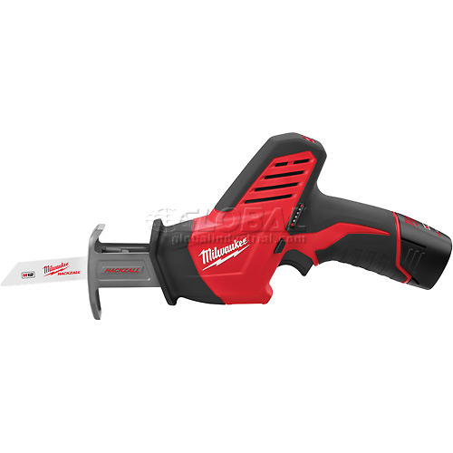 Milwaukee 2420-21 M12 HACKZALL Cordless Reciprocating Saw Kit by