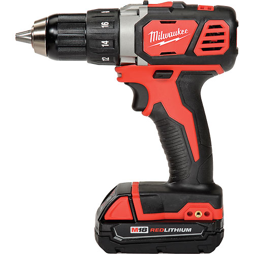 """Milwaukee 2606-22CT M18 1/2"""" Cordless Compact Drill/Driver Kit by"""